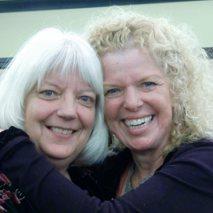 Karen Parnell and Donna Eden